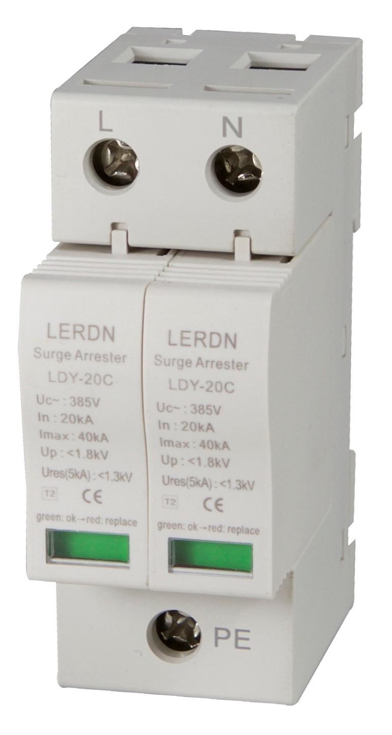 雷尔盾LERDN浪涌保护器LDY-20C/2P