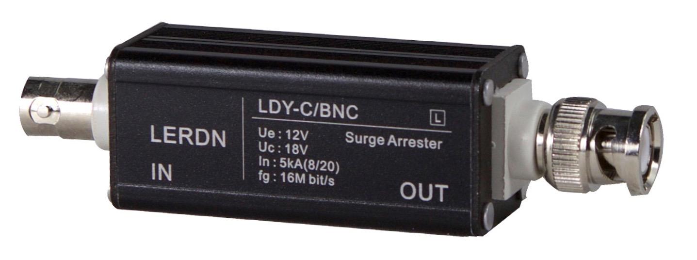 铝壳BNC视频信号防雷器